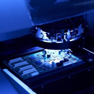 電子機器の製造のイメージ